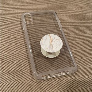 Tech21 iPhone case with Popsocket